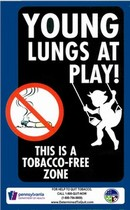 Tobacco Free Sign